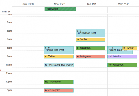 Develop A Content Calendar In 4 Easy Steps