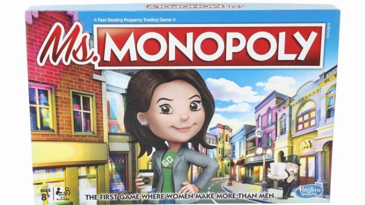 Ms. Monopoly Game Source: Hasbro