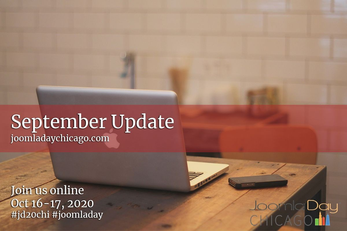 September Update: JoomlaDay Chicago 2020