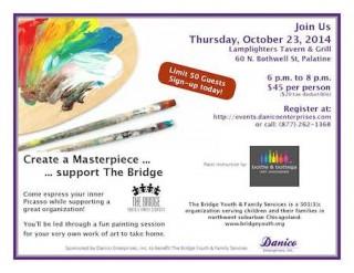 Danico Sponsored Fundraiser to Benefit The Bridge - Oct 23rd - 6pm to 8pm